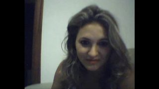 mature woman in webcam recorded for her lover